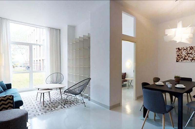 Butas 50 m2.Dizaino idėjos