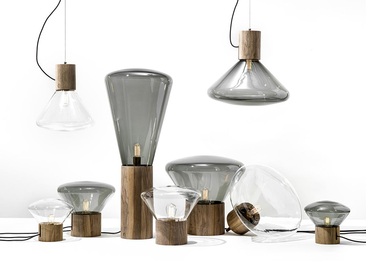 Leuchten-Kollektion Muffins von Brokis, designed 2010 in Kooperation mit Dan Yeffet