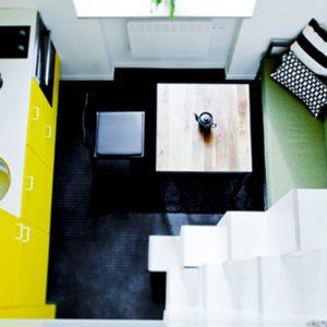 Interjero dizaineriai: mažieji loftai Vilniuje laužo interjero standartus
