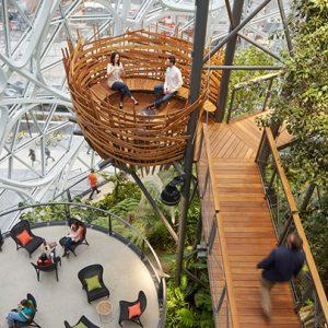 """Ar Kaune """"Amazon"""" kada nors pastatys ateities biurą?"""