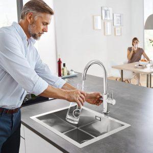 Kitoks geriamas vanduo iš čiaupo: apie prietaisą, kuris pralenkė laiką