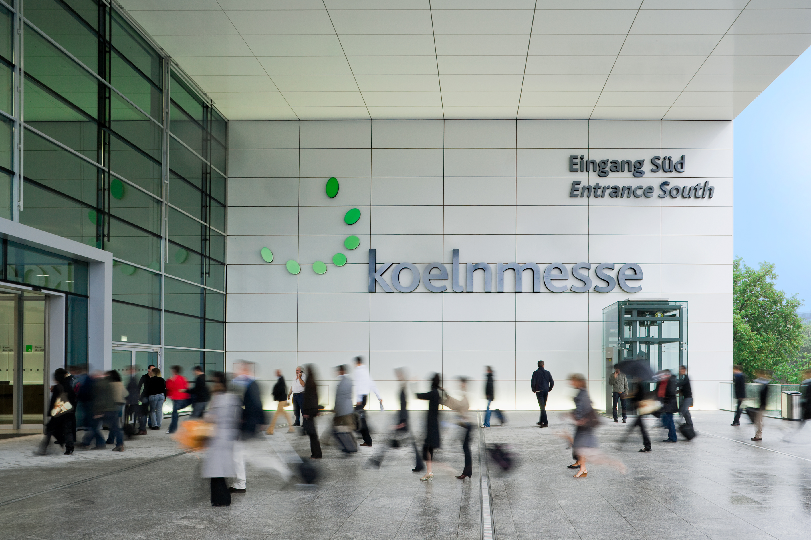 Koelnmesse Entrance South