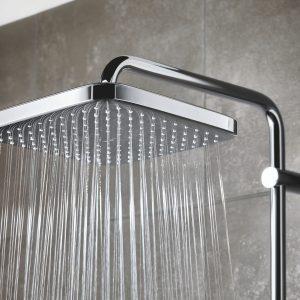 """Renkamės dušo sistemą: inovacijos ir stilius į """"įkandamą"""" kainą įskaičiuoti"""